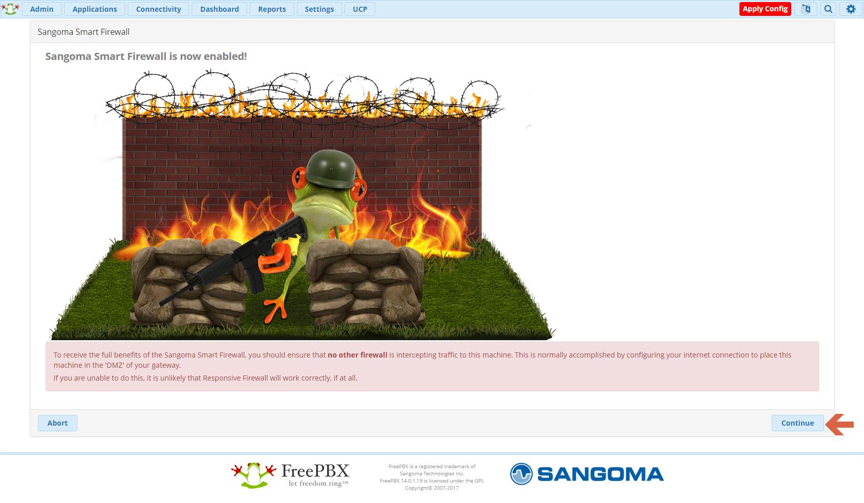 Freepbx 14 Asterisk 15